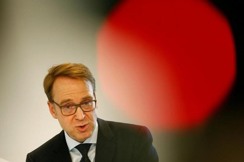 German Bundesbank President Jens Weidmann speaks during the G20 Germany 2017 Conference in Wiesbaden, Germany, January 25, 2017.  REUTERS/Ralph Orlowski