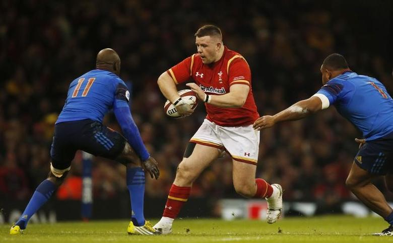 Rugby Union - Wales v France - RBS Six Nations Championship 2016 - Principality Stadium, Cardiff, Wales - 26/2/16Wales' Rob Evans in actionAction Images via Reuters / Paul ChildsLivepic