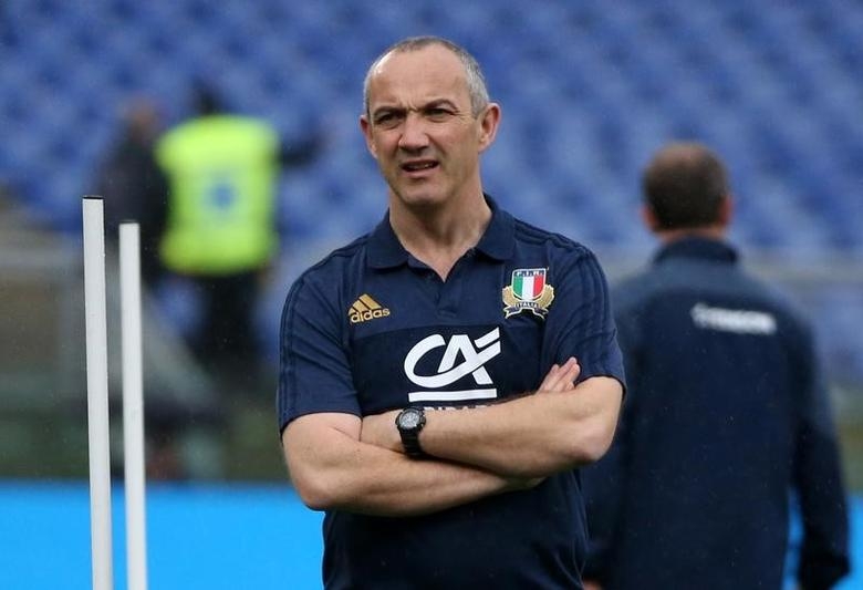 Rugby Union - Italy v Wales - Six Nations Championship - Stadio Olimpico, Rome - 5/2/17 Italy head coach Conor O'Shea before the match  Reuters / Alessandro Bianchi Livepic