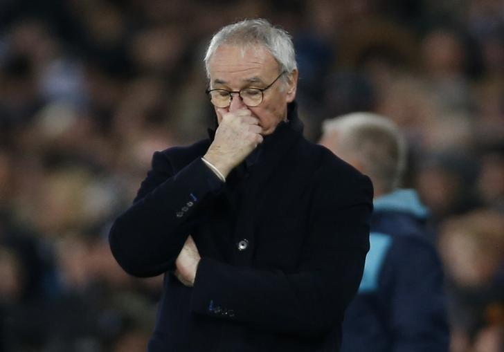 Football Soccer Britain - Swansea City v Leicester City - Premier League - Liberty Stadium - 12/2/17 Leicester City manager Claudio Ranieri looks dejected Action Images via Reuters / Paul Childs Livepic