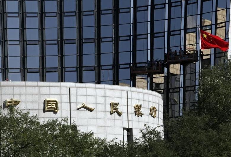 2012年10月资料图,中国央行总部大楼。REUTERS/Barry Huang