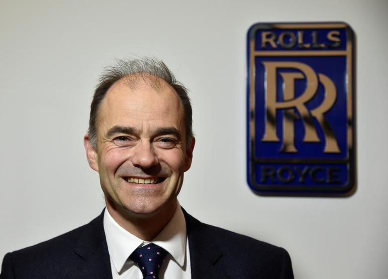 FILE PHOTO - Warren East, CEO of Rolls-Royce, poses for a portrait at the company's aerospace engineering and development site in Bristol, Britain, December 17, 2015. REUTERS/Toby Melville/File Photo
