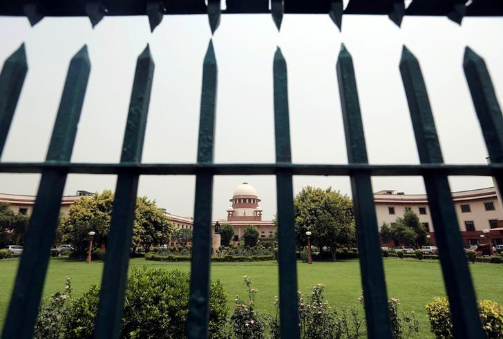 The Supreme Court is pictured through a gate in New Delhi, India May 26, 2016. REUTERS/Anindito Mukherjee/Files