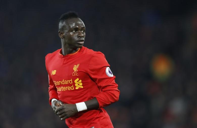 Britain Soccer Football - Liverpool v Tottenham Hotspur - Premier League - Anfield - 11/2/17 Liverpool's Sadio Mane  Action Images via Reuters / Carl Recine Livepic