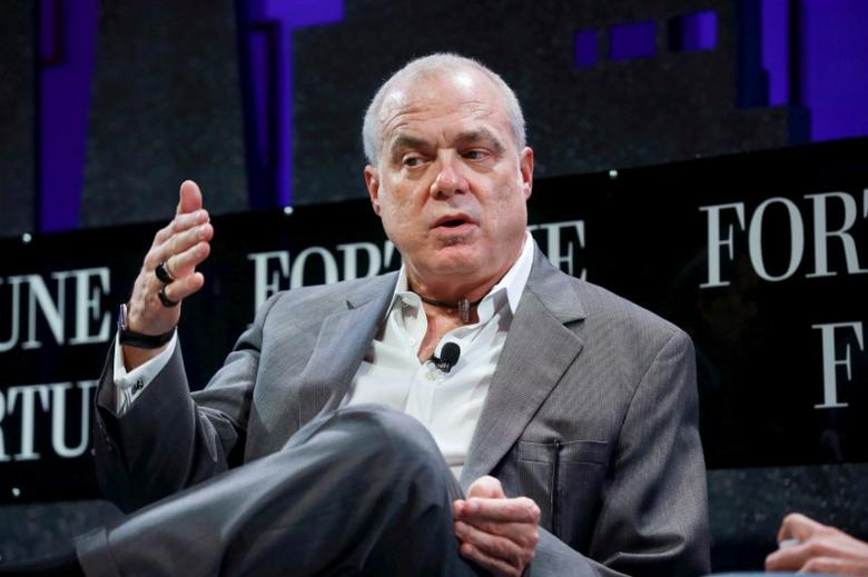 FILE PHOTO -- Mark Bertolini, Chairman and CEO of Aetna, participates in a panel discussion at the 2015 Fortune Global Forum in San Francisco, California November 3, 2015. REUTERS/Elijah Nouvelage/File Photo