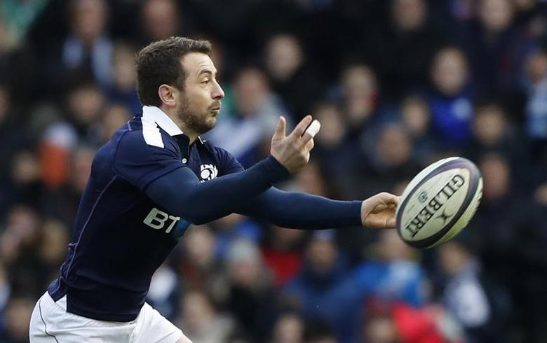 Britain Rugby Union - Scotland v Ireland - Six Nations Championship - BT Murrayfield Stadium, Edinburgh - 4/2/17 Scotland's Greig Laidlaw Reuters / Russell Cheyne