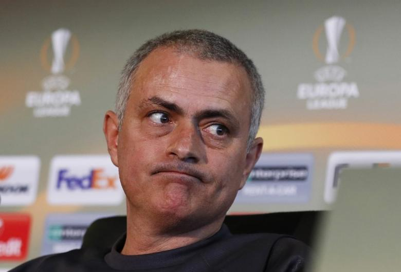 Britain Football Soccer - Manchester United Press Conference - Manchester United Training Ground - 15/2/17 Manchester United manager Jose Mourinho during the press conference Action Images via Reuters / Jason Cairnduff Livepic
