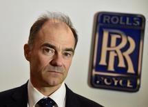 """Le directeur général de Rolls-Royce Warren East. La société a fait état mardi d'une perte annuelle record de 4,6 milliards de livres (5,4 milliards d'euros) au titre de 2016, sous le coup à la fois d'une charge liée à une amende totale de 671 millions payée pour solder une affaire de corruption et de la chute de la livre depuis le vote en faveur du """"Brexit"""". /Photo d'archives/REUTERS/Toby Melville"""