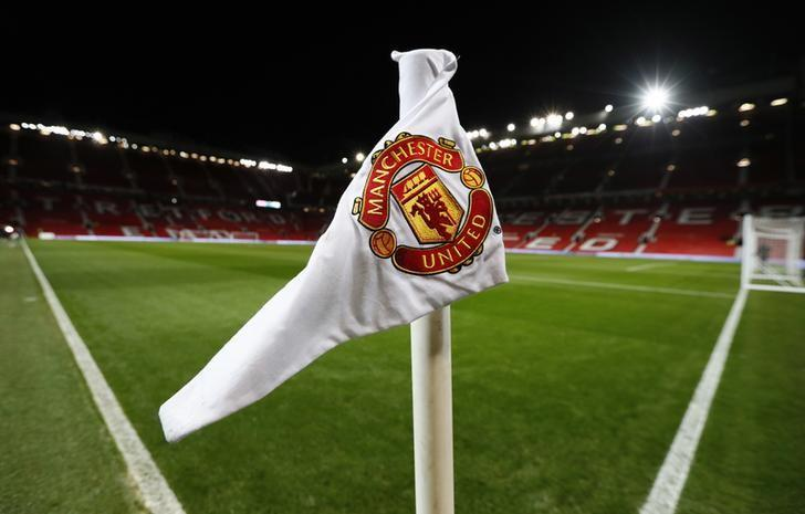 Britain Football Soccer - Manchester United v Hull City - EFL Cup Semi Final First Leg - Old Trafford - 10/1/17 General view of a corner flag at Old Trafford Action Images via Reuters / Jason Cairnduff Livepic/Files