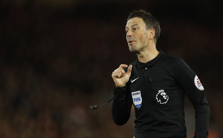 Football Soccer Britain - Liverpool v West Ham United - Premier League - Anfield - 11/12/16 Referee Mark Clattenburg during the match Action Images via Reuters / Lee Smith Livepic/Files