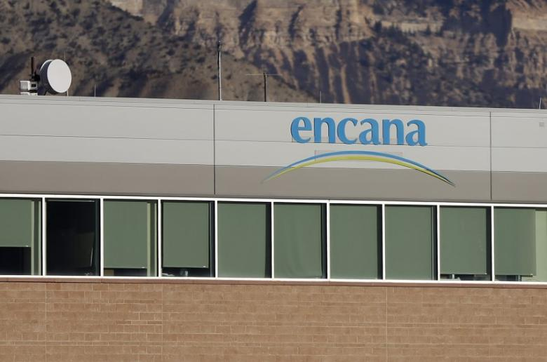 Encana offices is pictured in Parachute, Colorado, U.S. on December 10, 2014.   REUTERS/Jim Urquhart/File Photo