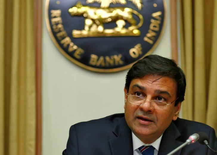 The Reserve Bank of India (RBI) Governor Urjit Patel speaks during a news conference after the bimonthly monetary policy review in Mumbai, December 7, 2016. REUTERS/Danish Siddiqui/Files