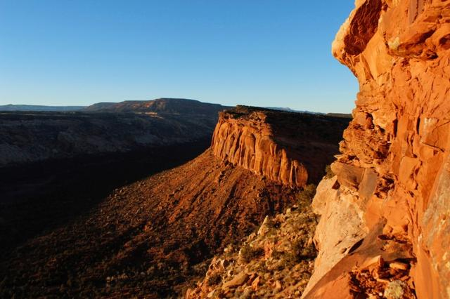 The view from Comb Ridge is pictured in Utah's Bears Ears area of the Four Corners Region, Utah, U.S. December 18, 2016. REUTERS/Annie Knox