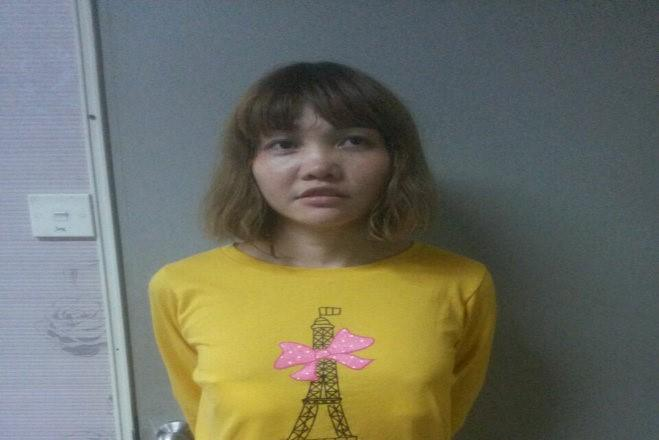 Vietnamese Doan Thi Huong is seen in this undated handout released by the Royal Malaysia Police to Reuters on February 19, 2017. Doan was arrested in connection with the murder of Kim Jong Nam. Royal Malaysia Police/Handout via Reuters