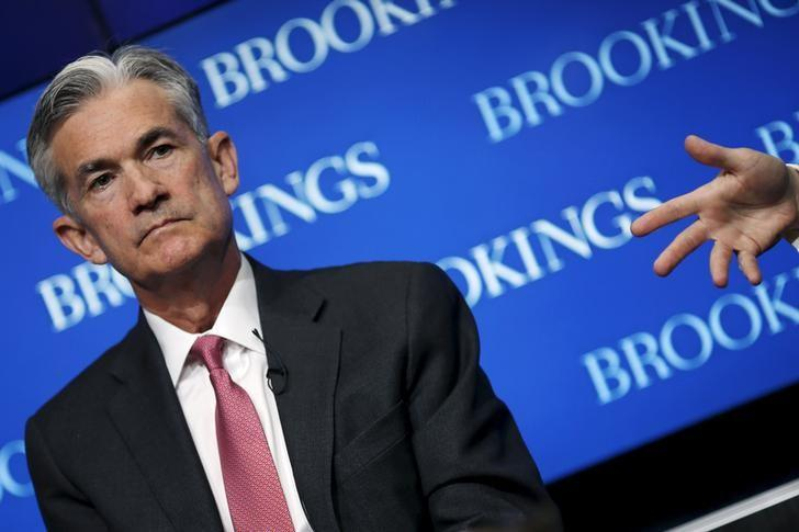 Federal Reserve Governor Jerome Powell attends a conference at the Brookings Institution in Washington August 3, 2015. REUTERS/Carlos Barria