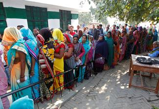 Election in Uttar Pradesh