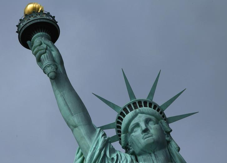 The Statue of Liberty is seen in New York October 27, 2012. REUTERS/Carlo Allegri/Files