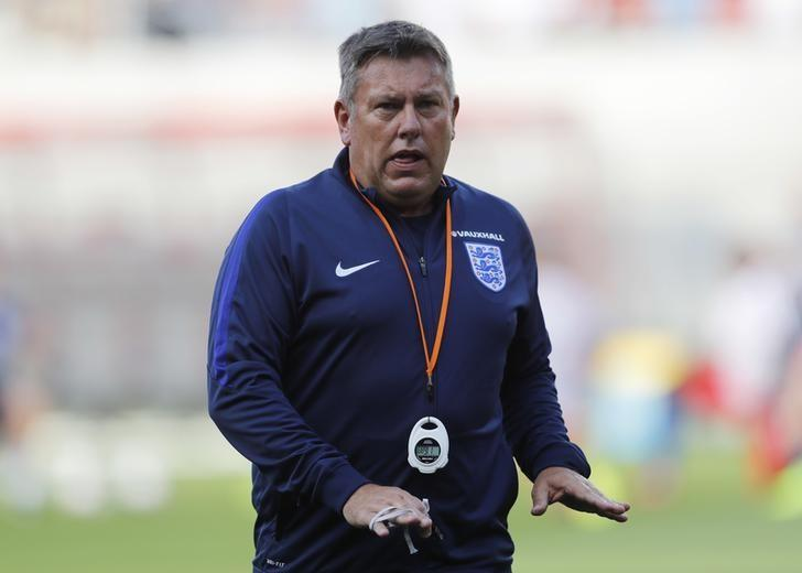Football Soccer - Slovakia v England - 2018 World Cup Qualifying European Zone - Group F - City Arena, Trnava, Slovakia - 4/9/16England coach Craig Shakespeare before the matchAction Images via Reuters / Carl RecineLivepic
