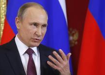 بوتين: المحادثات بشأن سوريا في آستانة ساعدت في إحياء محادثات جنيف