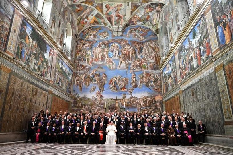 Sistine Chapel gets full digital treatment for future restorations