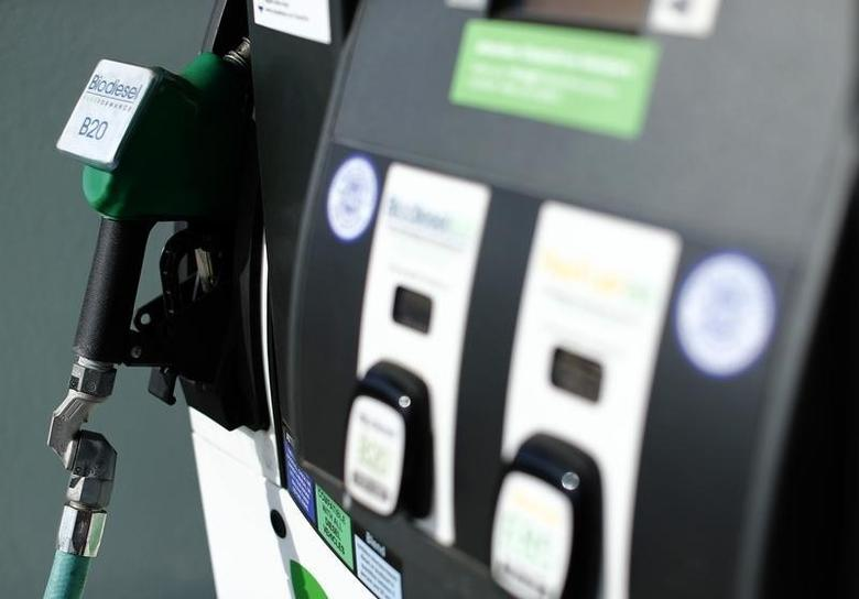 A pump at an alternative fueling station that provides fuel other than gasoline is shown in San Diego, California January 8, 2015.REUTERS/Mike Blake