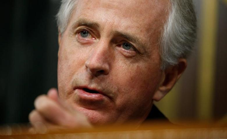 Senate Foreign Relations Committee Chairman Bob Corker   in Washington, U.S.  January 11, 2017. REUTERS/Kevin Lamarque
