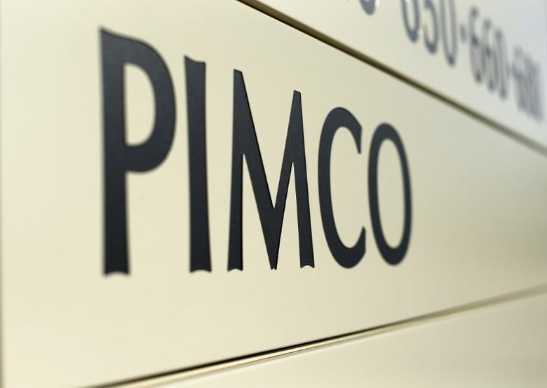 A Pacific Investment Management Co (PIMCO) sign is shown in Newport Beach, California August 4, 2015. REUTERS/Mike Blake