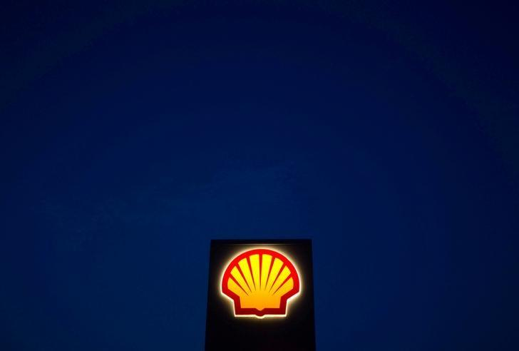 A Shell sign is pictured near Nowshera, Pakistan's northwest Khyber-Pakhtunkhwa Province September 8, 2010. REUTERS/Morteza Nikoubazl/File Photo