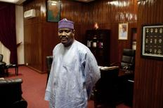Hama Amadou in a file photo.        REUTERS/Joe Penney