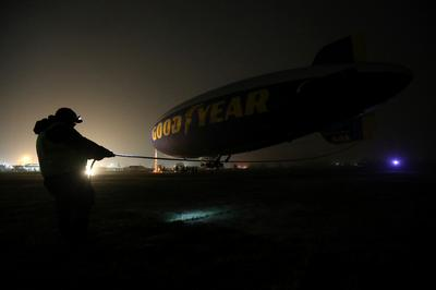 The last of the Goodyear blimps