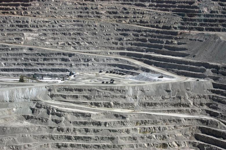 File Photo: A view of the BHP Billiton's Escondida, the world's biggest copper mine, in northern Chile, in Antofagasta, Chile March 31, 2008. REUTERS/Ivan Alvarado/File Photo