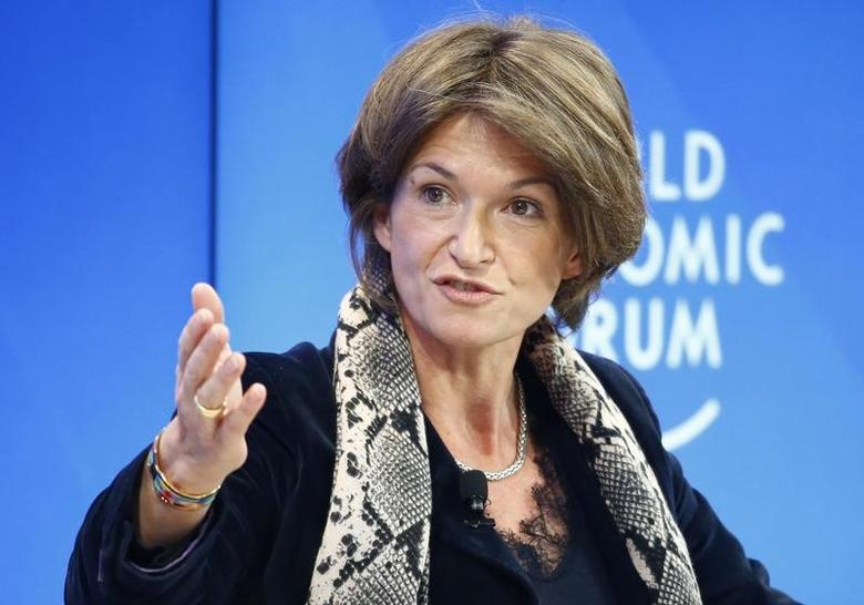 Isabelle Kocher, CEO of ENGIE attends the World Economic Forum (WEF) annual meeting in Davos, Switzerland January 19, 2017.  REUTERS/Ruben Sprich