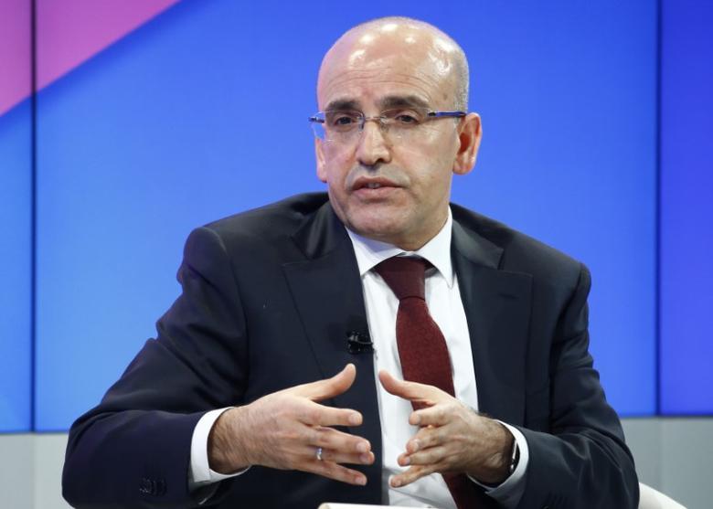 Mehmet Simsek, Deputy Prime Minister of Turkey attends the World Economic Forum (WEF) annual meeting in Davos, Switzerland January 19, 2017.  REUTERS/Ruben Sprich