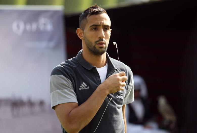 Football Soccer - QTA host Italian Super Cup Finalists, Aspire Sports City, Doha, Qatar - 21/12/16  Juventus' Medhi Benatia after a training session Action Images via Reuters / Martin Dokoupil Livepic EDITORIAL USE ONLY. -