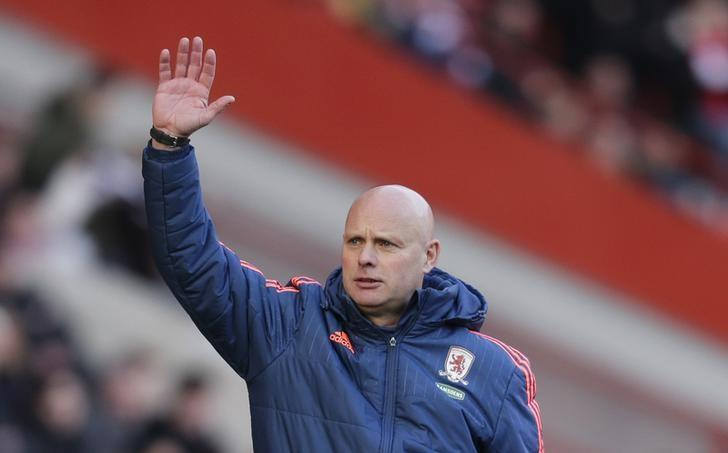 Football Soccer - Charlton Athletic v Middlesbrough - Sky Bet Football League Championship - The Valley - 13/3/16. Middlesbrough assistant head coach Steve Agnew. Mandatory Credit: Action Images / Henry Browne