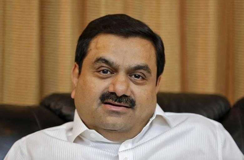 Indian billionaire Gautam Adani speaks during an interview with Reuters at his office in Ahmedabad in this April 2, 2014 file photo. REUTERS/Amit Dave/Files