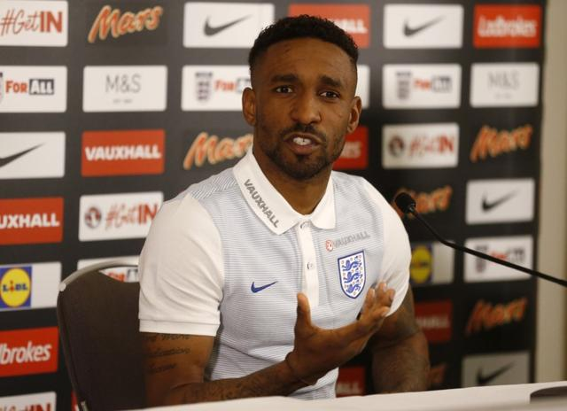 Britain Football Soccer - England Media Day - St George's Park - 20/3/17 England's Jermain Defoe during the press conference Action Images via Reuters / Carl Recine Livepic EDITORIAL USE ONLY.