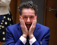 Il presidente dell'Eurogruppo  Jeroen Dijsselbloem. REUTERS/Yves Herman