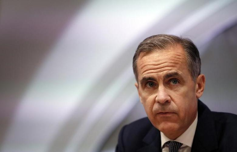 Mark Carney, Governor of the Bank of England attends the quarterly Inflation Report press conference at the bank in London, Britain February 2, 2017. REUTERS/Kirsty Wigglesworth/Pool