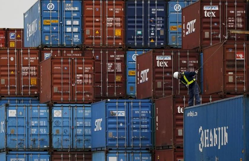 Japan Feb exports jump, surplus with U.S. raises fears of trade tensions
