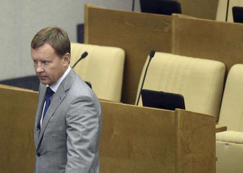 Denis Voronenkov attends a session at the State Duma, the lower house of parliament, in Moscow, Russia, September 15, 2015.  REUTERS/Dmitry Dukhanin/Kommersant Photo
