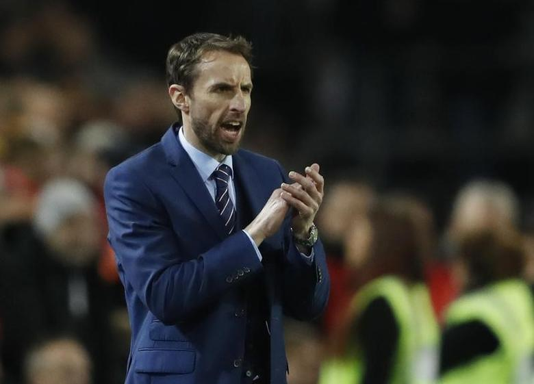 Football Soccer - Germany v England - International Friendly - Signal-Iduna-Park, Dortmund, Germany - 22/3/17 England manager Gareth Southgate  Action Images via Reuters / Carl Recine Livepic