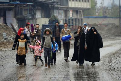 Trapped in Mosul