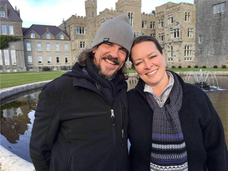Kurt Cochran and his wife Melissa, who were in Europe to celebrate their 25th wedding anniversary and had been due to return to the United States on Thursday, are shown in this photo released by the family in Salt Lake City, Utah, U.S. on March 23, 2017. Kurt Cochran was killed and his wife badly injured during Wednesday's attack near the British parliament in London.   Courtesy the Payne family/Handout via REUTERS