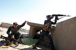 Brutal street battle for Mosul