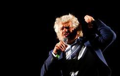 Beppe Grillo, leader del Movimento 5 Stelle. REUTERS/Remo Casilli