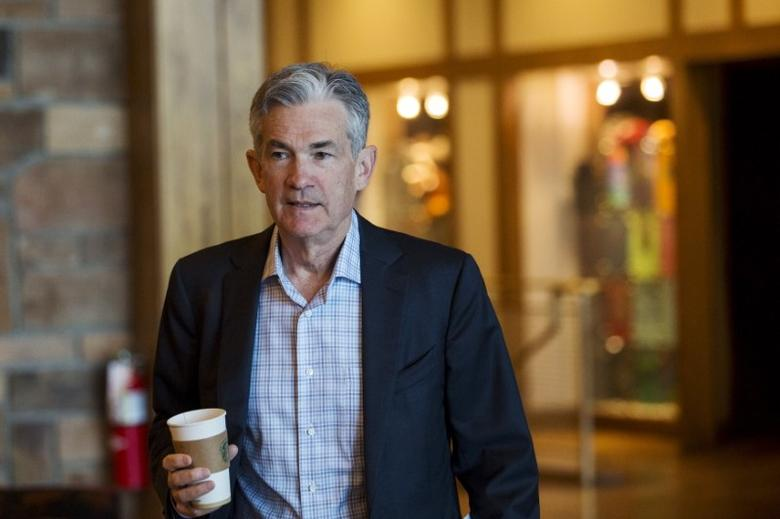 File photo: Jerome Powell attends the Federal Reserve Bank of Kansas City's annual Jackson Hole Economic Policy Symposium in Jackson Hole, Wyoming August 28, 2015. REUTERS/Jonathan Crosby