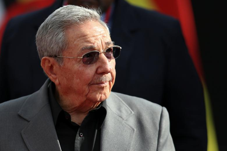 FILE PHOTO - Cuba's President Raul Castro attends an ALBA alliance summit to mark the fourth anniversary of the death of Venezuela's late President Hugo Chavez in Caracas, Venezuela, March 5, 2017. REUTERS/Carlos Garcia Rawlins