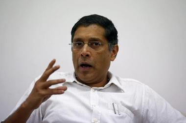 Arvind Subramanian, chief economic adviser at India's Finance Ministry,...
