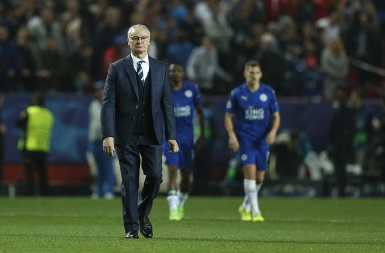 Sevilla v Leicester City - UEFA Champions League Round of 16 First Leg - Ramon Sanchez Pizjuan Stadium, Seville, Spain - 22/2/17 Leicester City manager Claudio Ranieri after the match  Action Images via Reuters / John Sibley Livepic